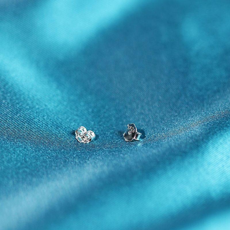 Oe8Px S925 gioielli earsilver schiena femminile argento orecchio cappuccio orecchio di plastica connettore femmina