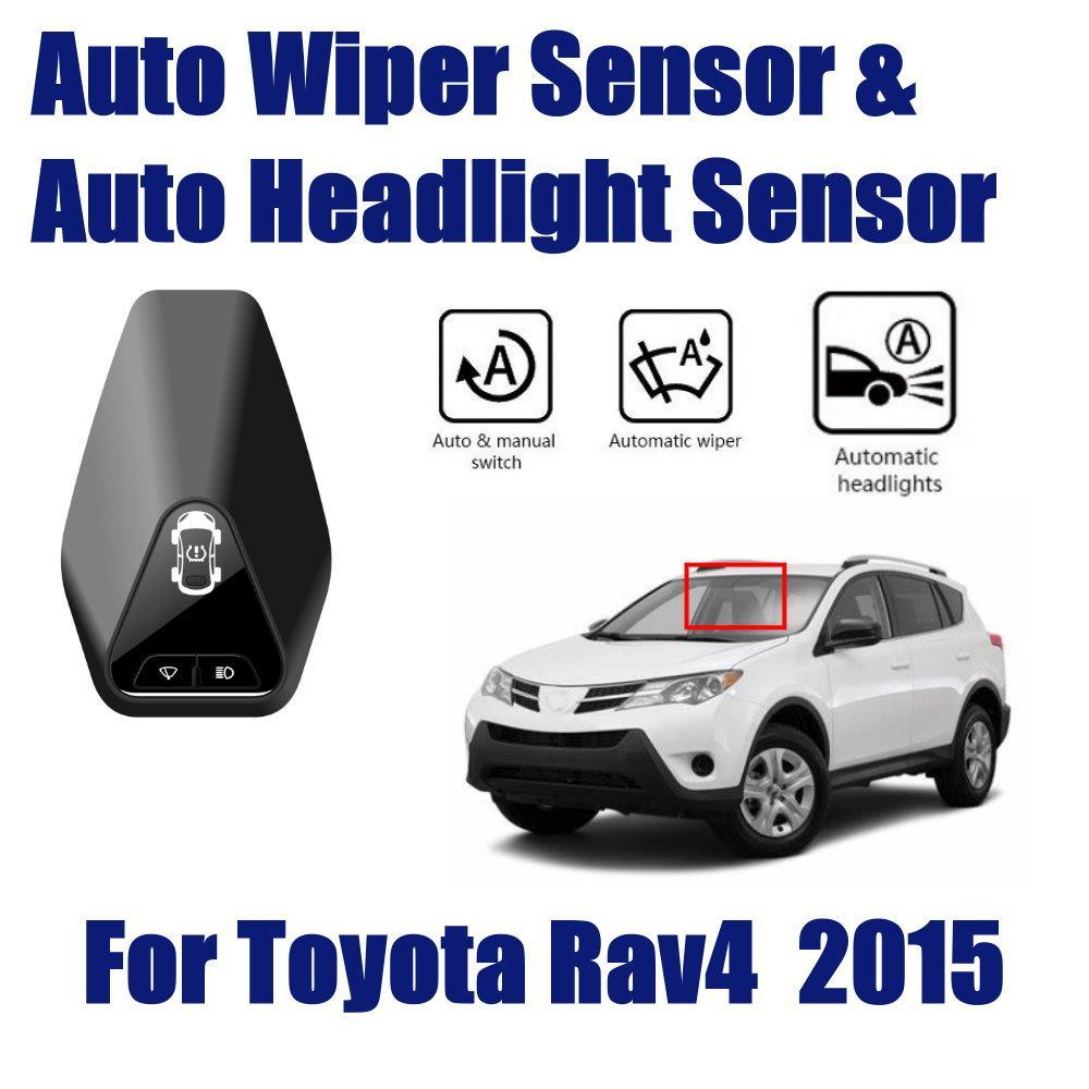 Smart Car Driving Assistant für Toyota RAV4 RAV 4 2013 ~ 2019 2.5L Auto 4WD Automatik Regen Sensor-Scheibenwischer Scheinwerfer Sensoren