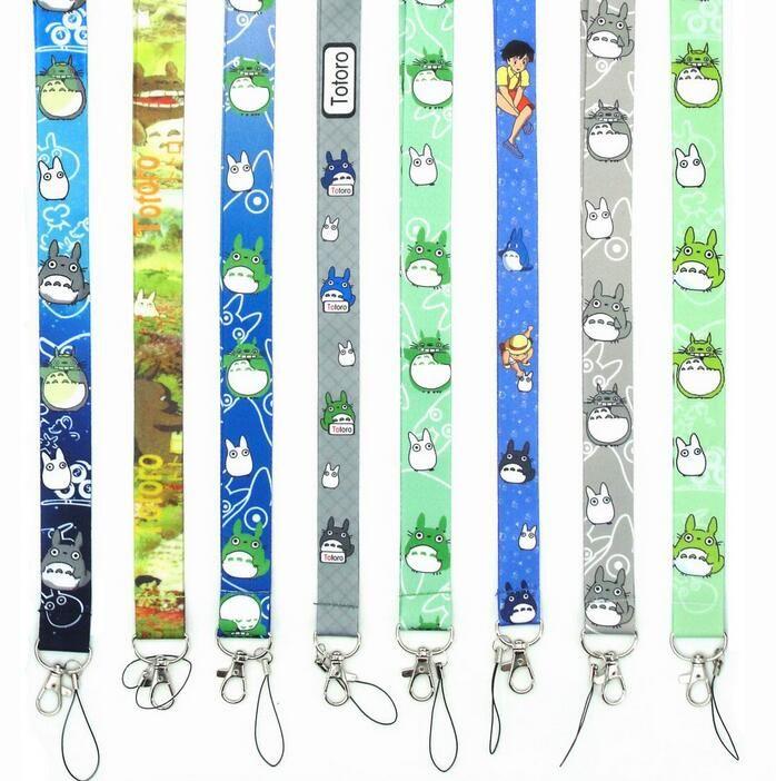 استوديو جيبلي هاياو ميازاكي أنيمي Totoro جارتي حماسي بعيدا الهاتف المحمول المفاتيح الحبل حزام حامل مفتاح شارة حلقة معرف