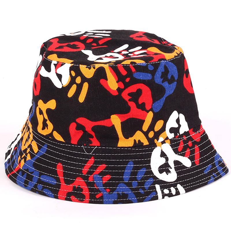 Floral Unisex Sun Hats Funny Summer Holiday novidade Praia Outdoor Cap For Men Women Bucket Pesca Chapéu de Sol protetion