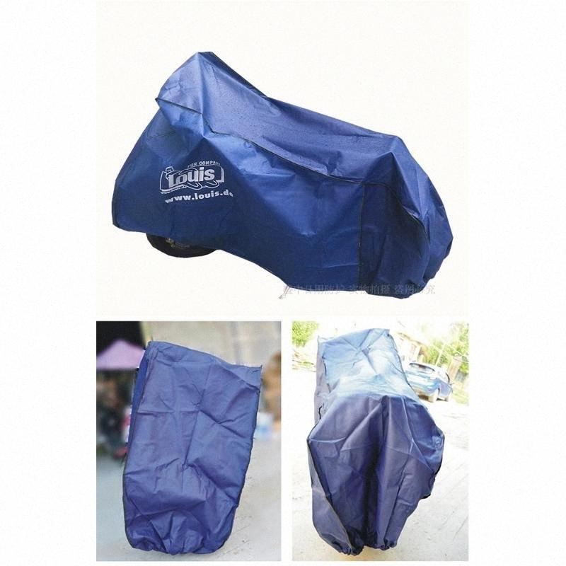 Housse pour moto Universal Indoor Outdoor protecteur pour Scooter moto toutes saisons étanche Preuve de pluie Dust Cover 8BDh #