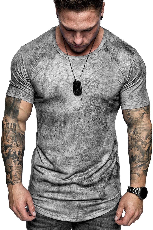 Estate Nuovo mens sport della maglietta girocollo a maniche corte T-shirt