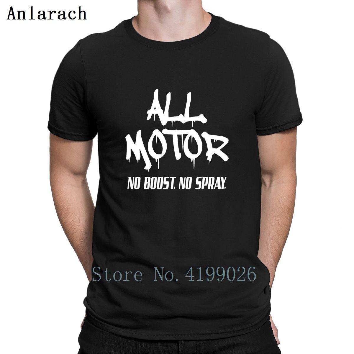 Todos Motor Sem impulso nenhum pulverizado de Racings camisetas personalizadas Edifício Streetwear Homens T-shirt Top Quality Kawaii Plus Size