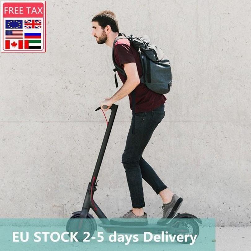 ЕС STOCK Free Fast Ship доставки 3-5 дней Водонепроницаемый KickScooter электрический самокат для взрослых Scooter Бездорожье E-самокат APP MK083