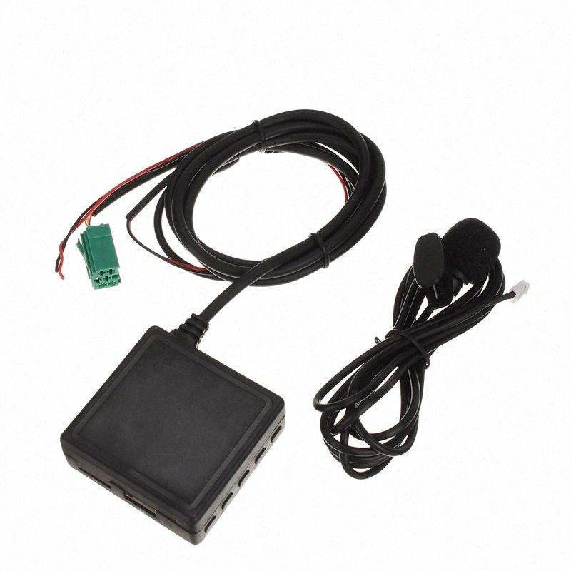 Car Bluetooth Module 6 Pin 3.5 MM AUX TF USB Adapter Wireless Radio Player Stereo Audio Module for 2005-2011 FQ3c#