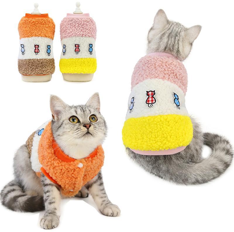 Moda Animali Gilet Autunno Inverno caldo Cats Dog Coats Designer Persico Ragdoll Toyger Poodle Puppy Jacket