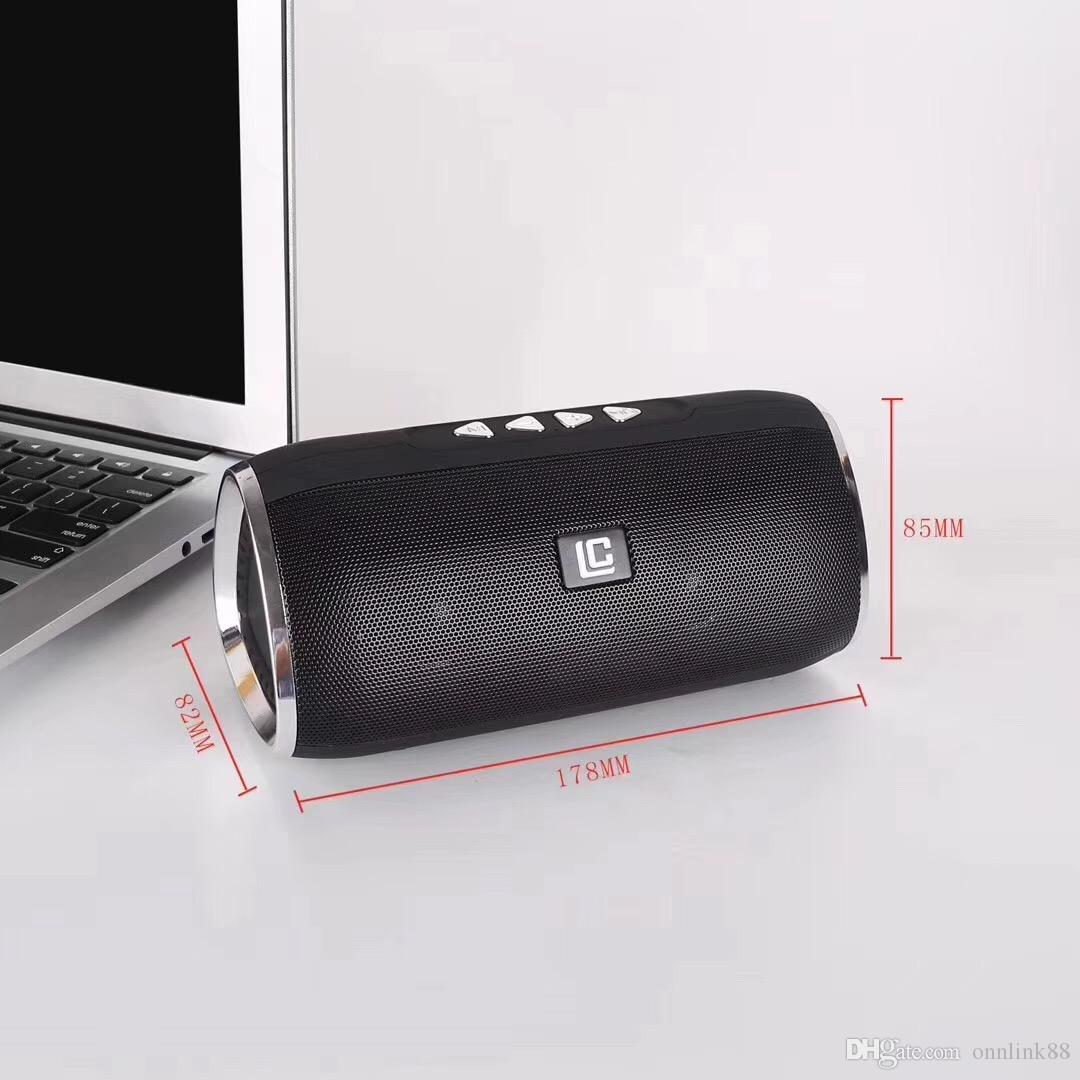 good quality Portable Speakers LN13 Bluetooth Speaker Wireless Handsfree with FM TF Card Slot Audio Player for MP3 FM TF in Box