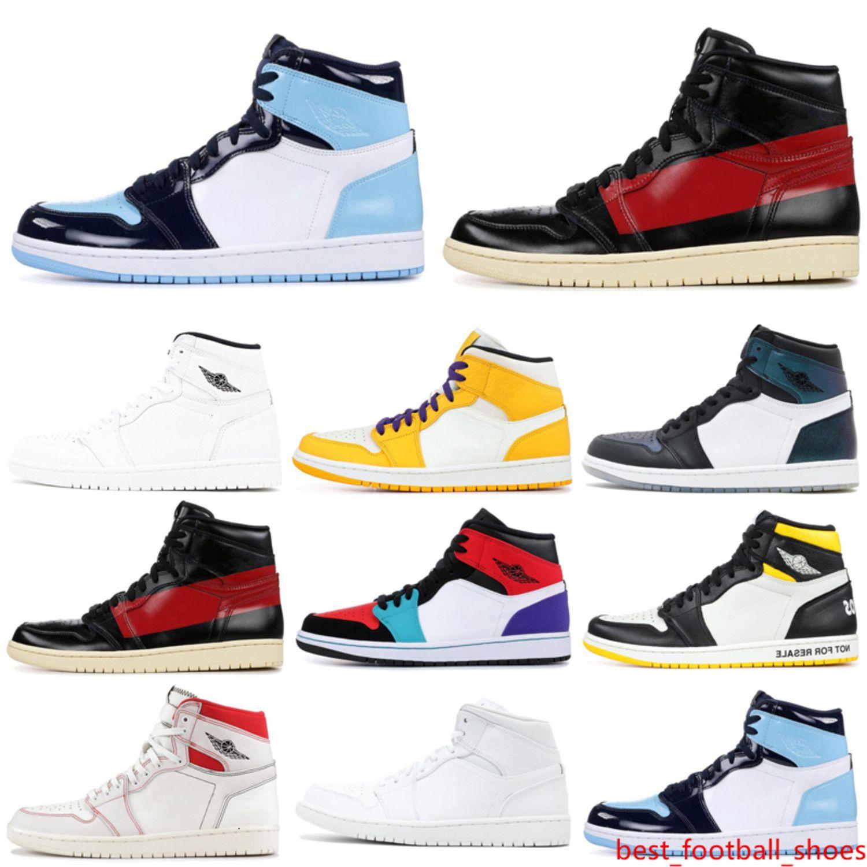 1 1s zapatos de baloncesto OG NRG Phantom UNC Ying Yang Paquete Unión Couture Sombra Mujeres instructor para hombre de las zapatillas de deporte Deportes 5,5-12