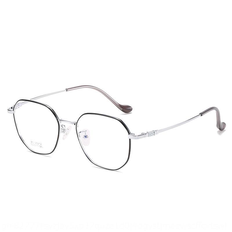cI1Wl 2020 новый Близорукость металл универсального многосторонний простые очки кадр персонализированных близорукости очки кадр для студентов