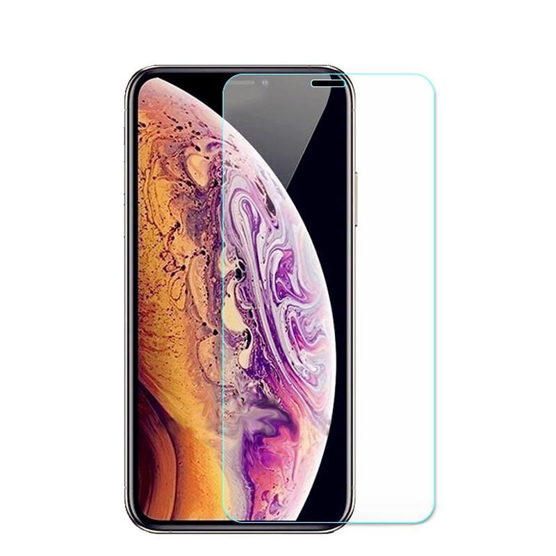 حماية الزجاج في آيفون 12 برو ماكس الزجاج المقسى حماة الشاشة لفون برو 11 XR XS 7 8Plus SE السلامة السينمائي