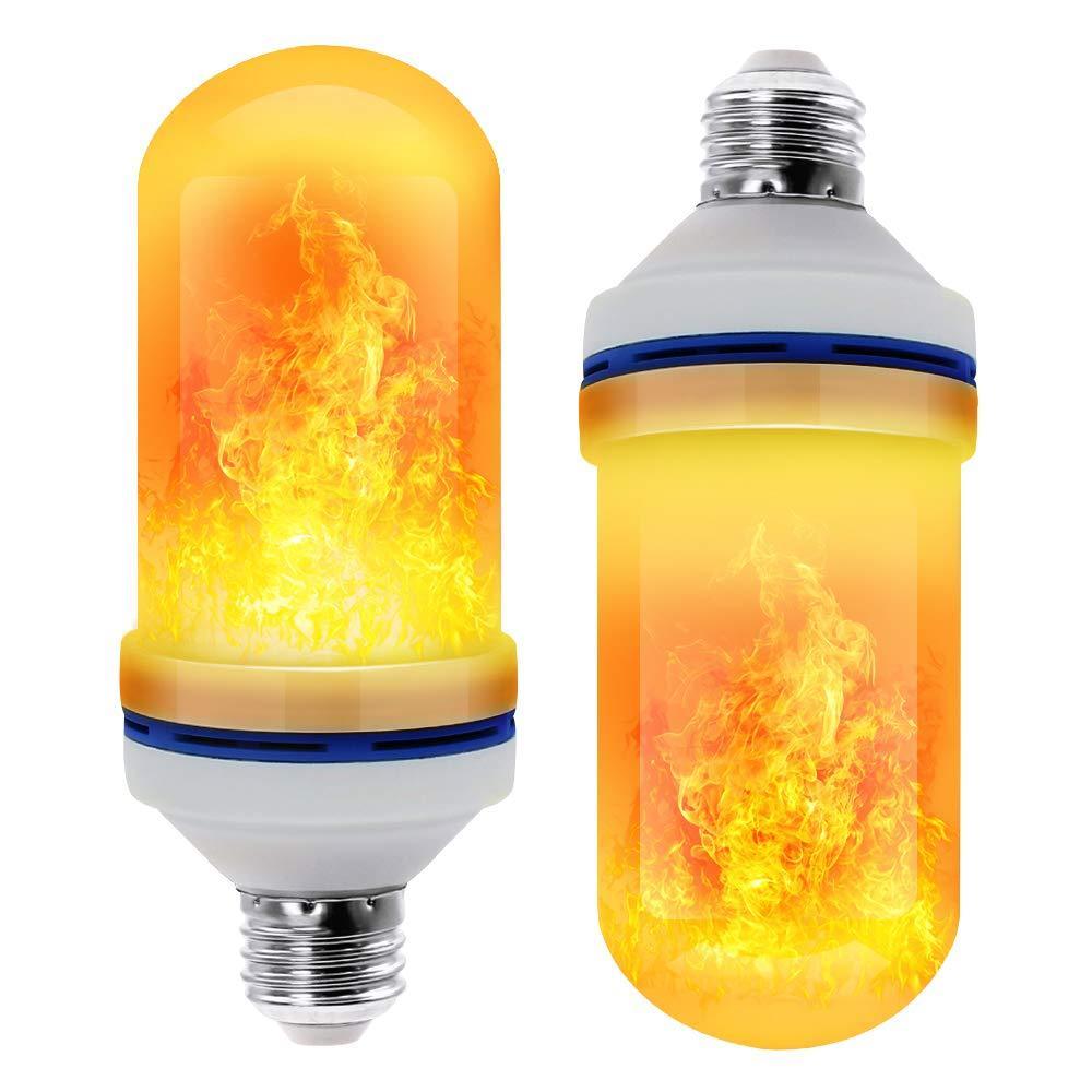 110 V 220 V E27 LED Alev Etkisi Ampul Yangın Lambası Yerçekimi Sensörü Mısır Ampuller Torch Dekor Lamba Dinamik Işık 4 Modları Yaratıcı Lamba