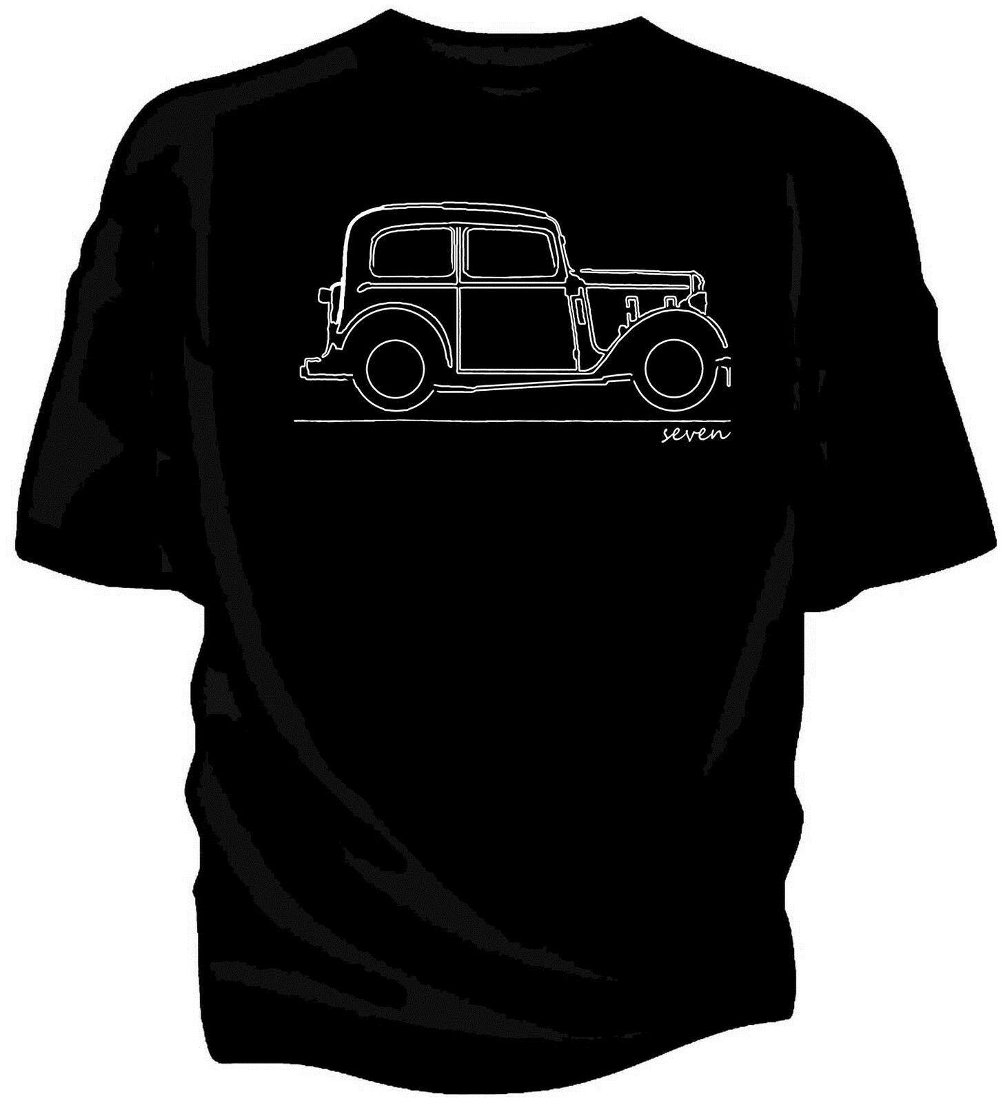 Ursprüngliche Kunst-Skizze T-Shirt - Austin Seven 7