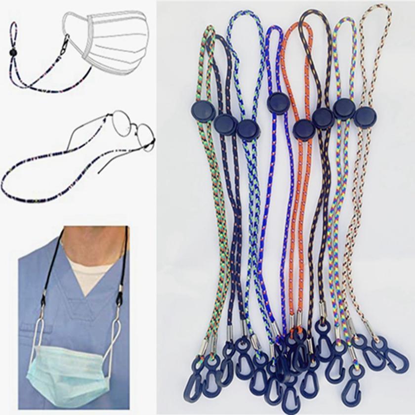 Multifunction Mask Glasses Lanyard Anti-loss Ear Holder Rope Adjustable Masks Hang Rope Face Mask Straps Adult Children HHA1577