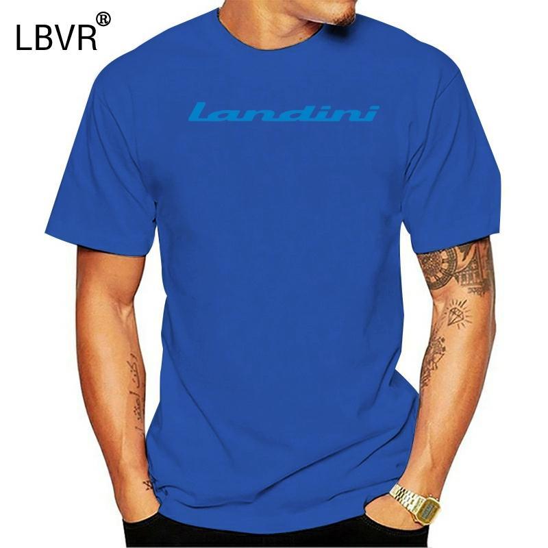 Trattori Landini T-shirt Trattore Agricoltura Enthusiast Uomini 2020 Estate T Shirt Tops T shirt con logo