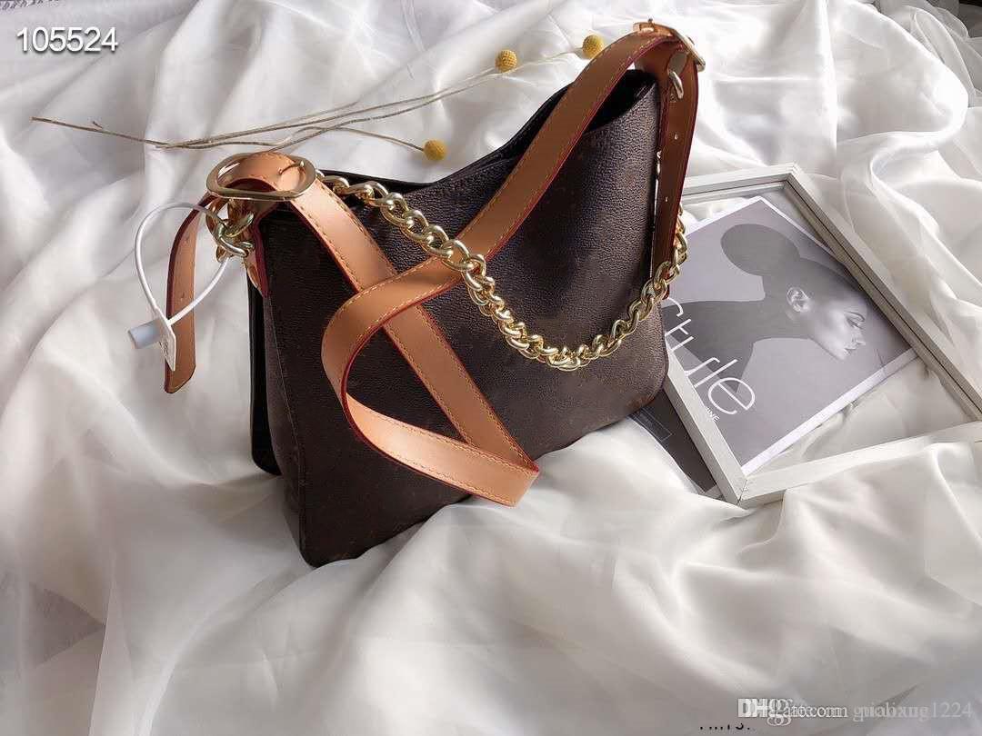 flor de idade Ombro Único de alta qualidade novo meio de antiguidades saco das mulheres Messenger Bag com pequeno saco