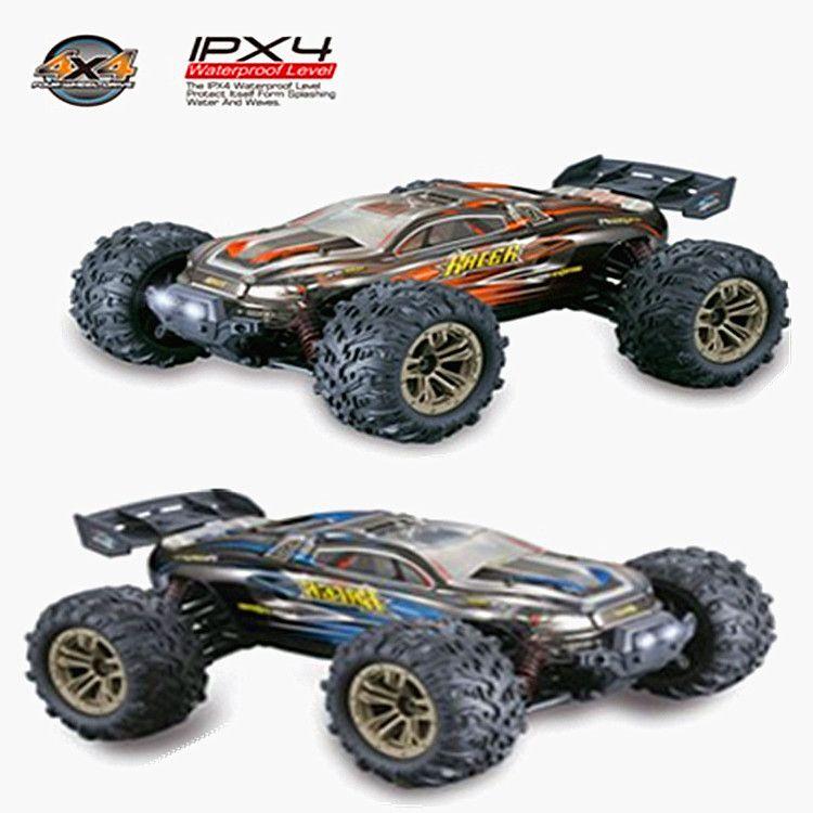 Nueva Cuatro ruedas motrices campo a través del coche de RC uno y dieciséis cuatro ruedas motrices de alta velocidad Modelo remoto de coches de juguete de control