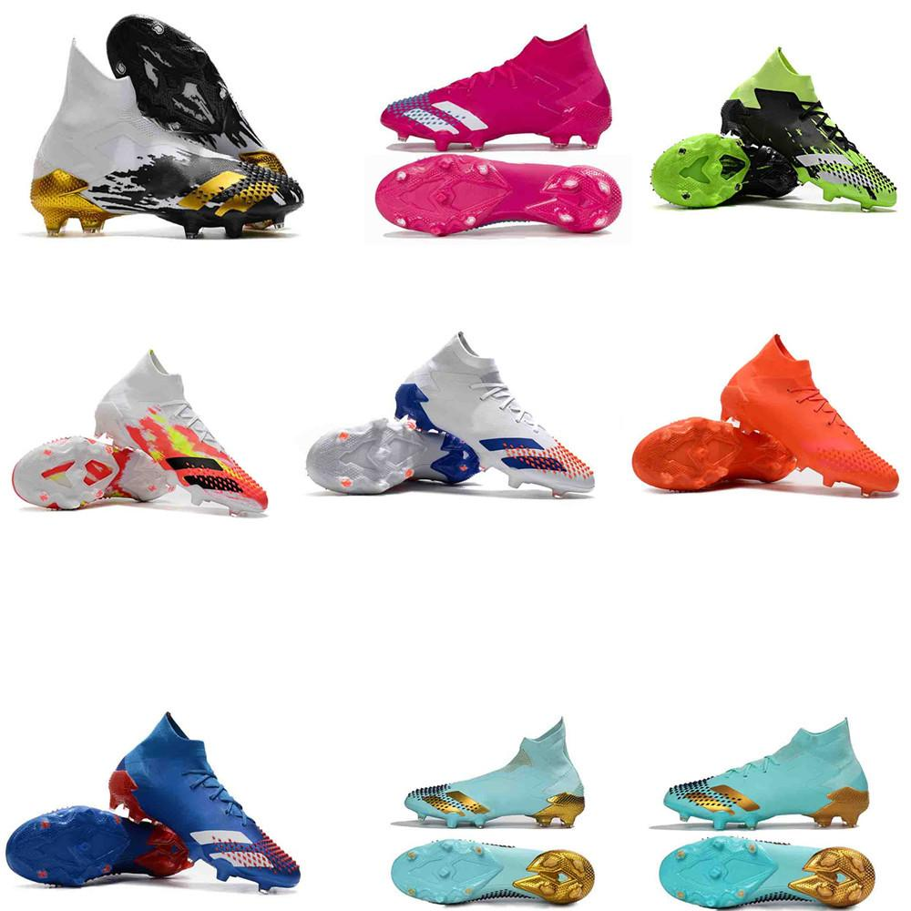 chaussure de foot mens soccer shoes Predator Mutator 20+ FG soccer cleats predator 20 football boots outdoor scarpe calcio Trainers Sports