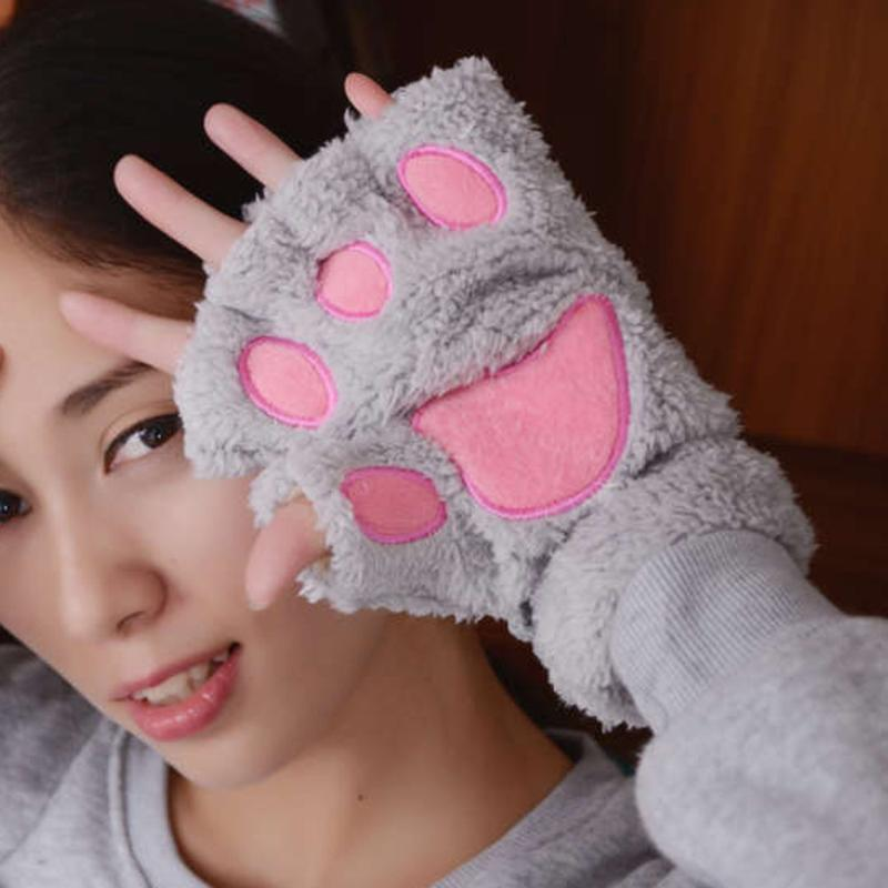 Зимние перчатки Женщины 2020 Мода для дам наручные грелка рукоятки Вязаная клавишные Длинные митенки Варежки Продажа товары #Zer