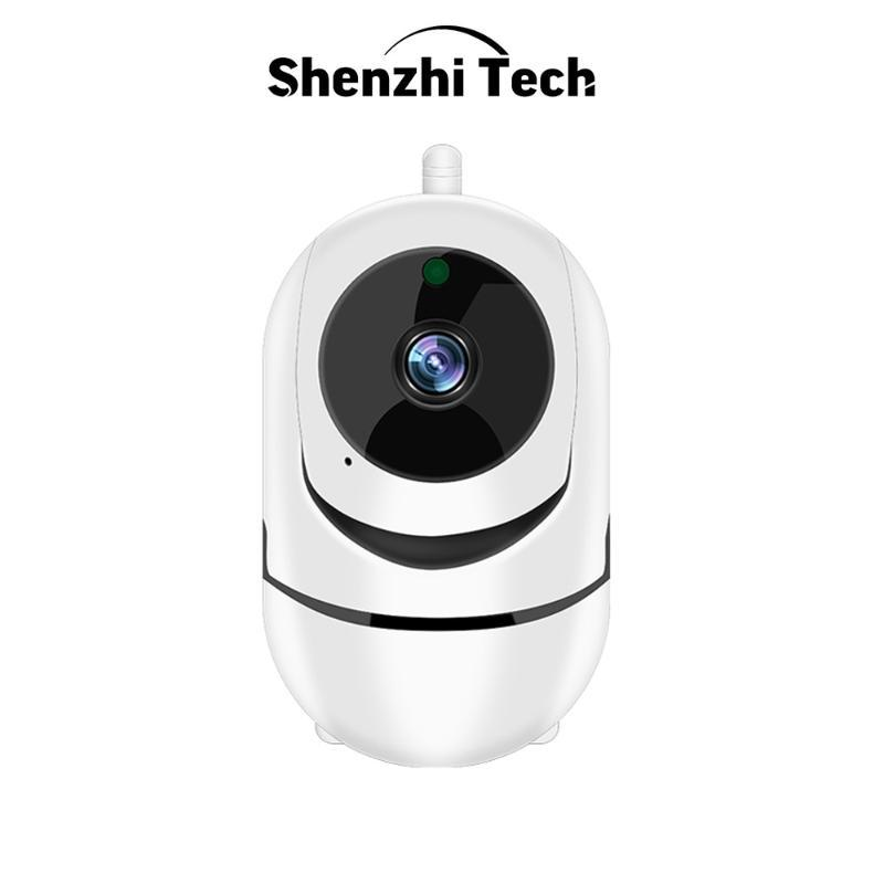 كاميرات 1080P IP كاميرا WiFi الأمن الذكية تتبع السيارات IR للرؤية الليلية اتجاهين صوتي مراقبة المنزل