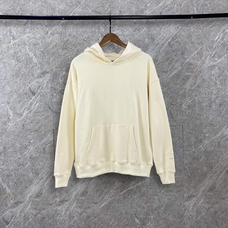 Hoodie dos homens dos homens do hip hop moletom com capuz para baixo hoodies moda camisolas casuais seis cores pullover tamanho disponíveis 6 cores de S a XL