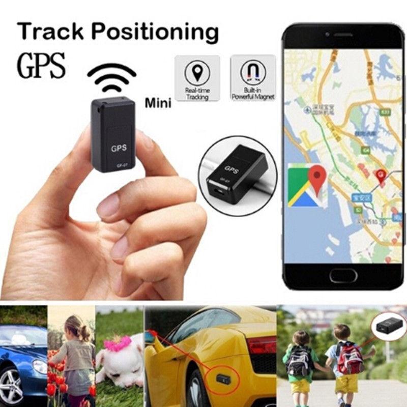 GPS GF-07 자동차 트래커 미니 자동차 트래커 GPS 로케이터 트래커 GPS 차량 자동차 용 스마트 마그네틱 SOS 추적 장치