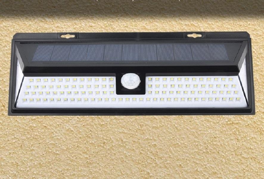 2020 뜨거운 판매 제조 업체 직접 판매 태양 벽 램프 야외 정원 방수 벽 램프 가로등 유도를 118led