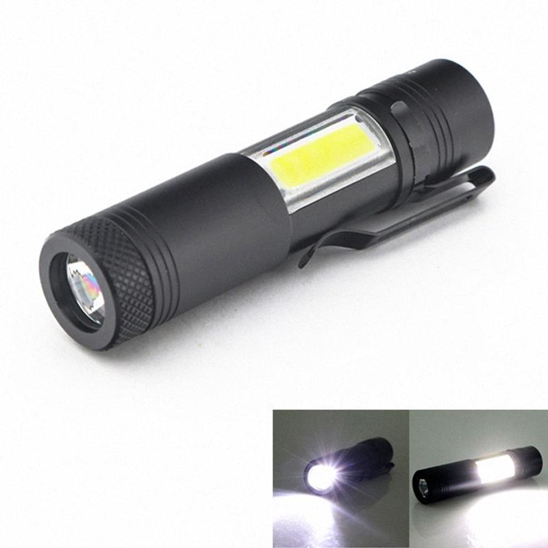 Yeni Mini Taşınabilir Alüminyum Q5 LED XPECOB İş Işık Lanterna Güçlü Kalem Meşalesi Lambası 4 Modları Kullanımı 14500 Veya Toptan Kağıt Fenerler Ba 0Z6R #