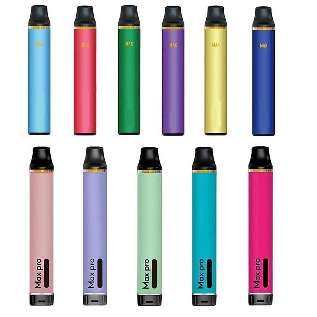 Max Pro Disposable Pod Device 3.5ml 5ml Prefilled Vape Stick Pen Aio System Starter Kit Bar for Mr Vapor