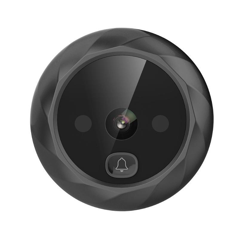 Campainha de 2.4 polegadas Digital Campainha LCD 90 graus Eye Eletrônico Peephole Infrared Camera Viewer SMR88