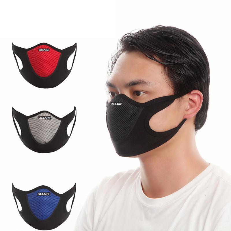 Пылезащитный ветрозащитный против пыли Face Veil Лыжная сноуборде Катание на коньках Велоспорт маска многоразового дышащий мочалку спорта Mesh Mouth Обложка Sulaite