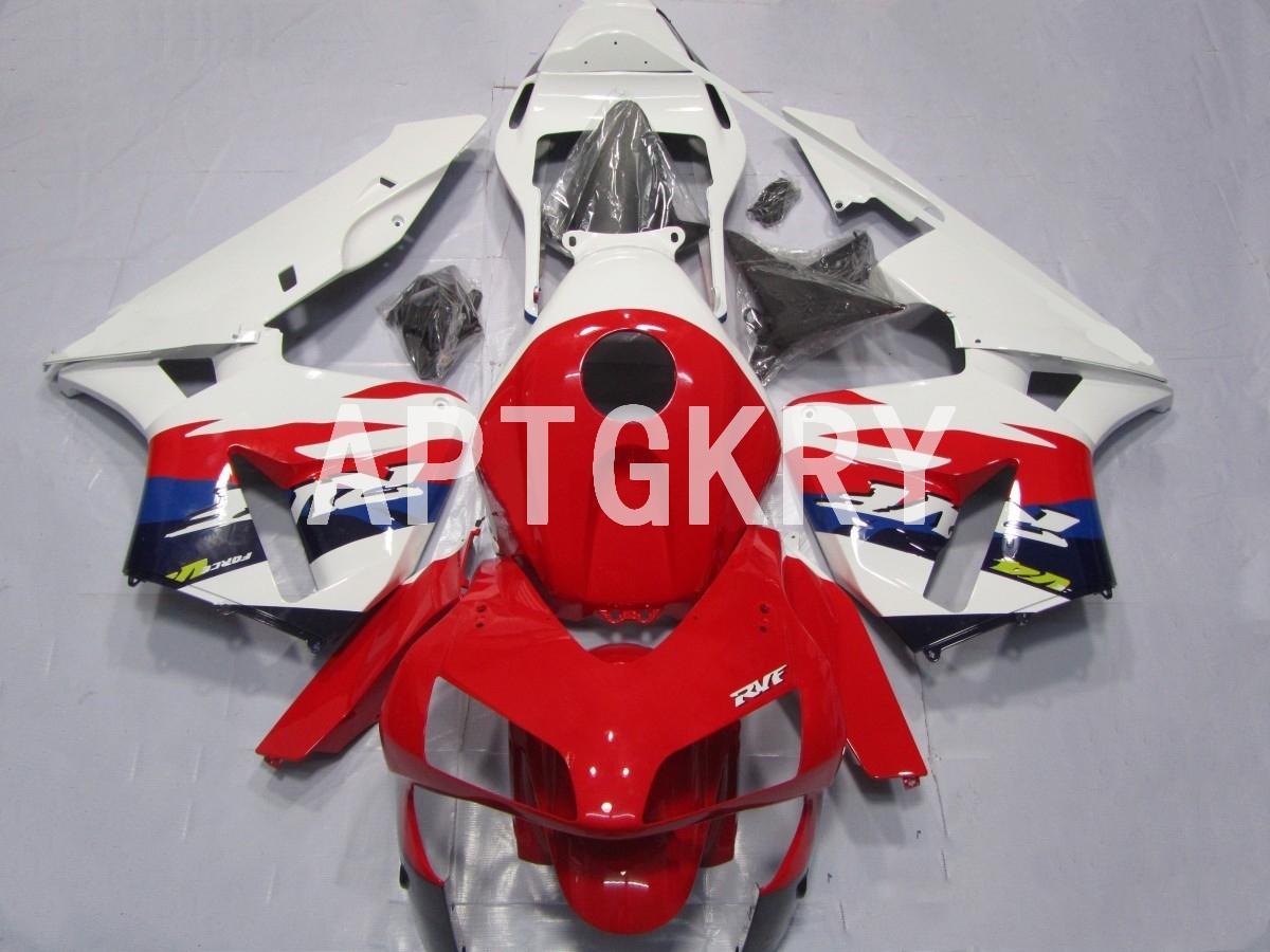 4 Brindes Novo ABS motocicleta carenagens kit apto para Honda CBR600RR F5 2003 2004 CBR 600RR 03 04 Personalizado Vermelho Branco
