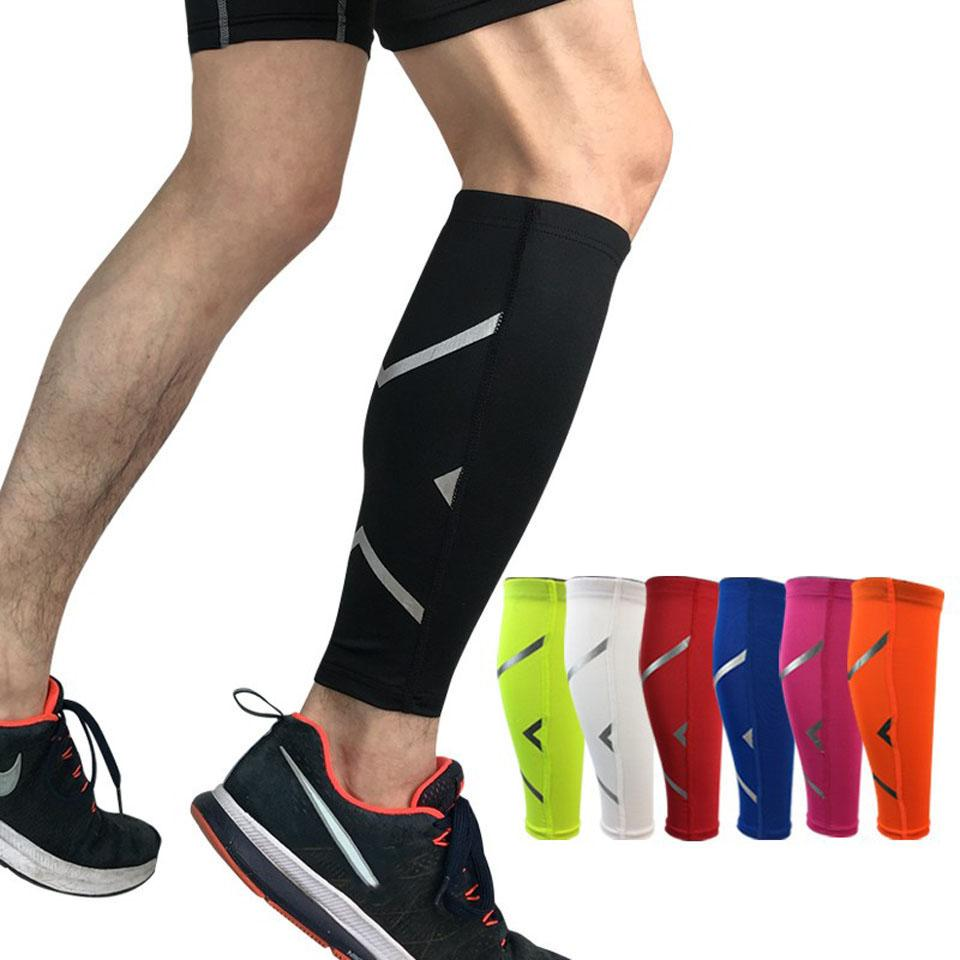 New 1PCS Men/Women Cycling Leg Warmer Breathable Basketball Football Running Compression Leg Sleeve Knee pad Sports Protector