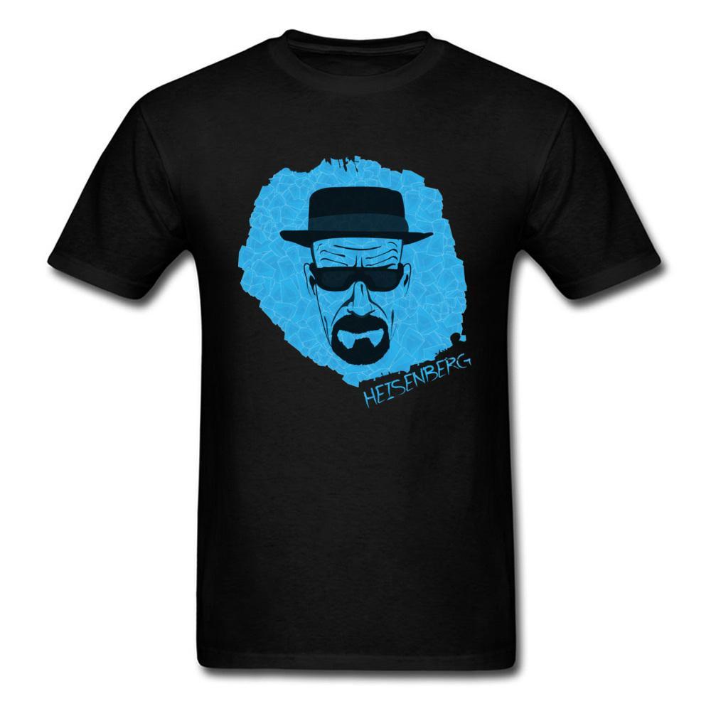 Bleu ciel Heisenberg T-shirt pour adultes Plus Size 3XL Aventure T-shirt Hipster Rafraîchissez T-shirt de haute qualité vêtements en pur coton Tops