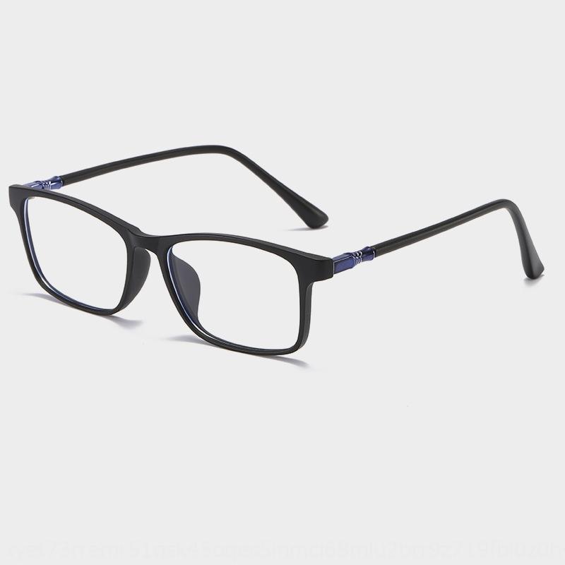 I4ST4 Nuovo TR90 quadrati trasparenti anti-azzurri di vetro normali della struttura di vetro di miopia degli uomini telaio miopia alla moda e donna