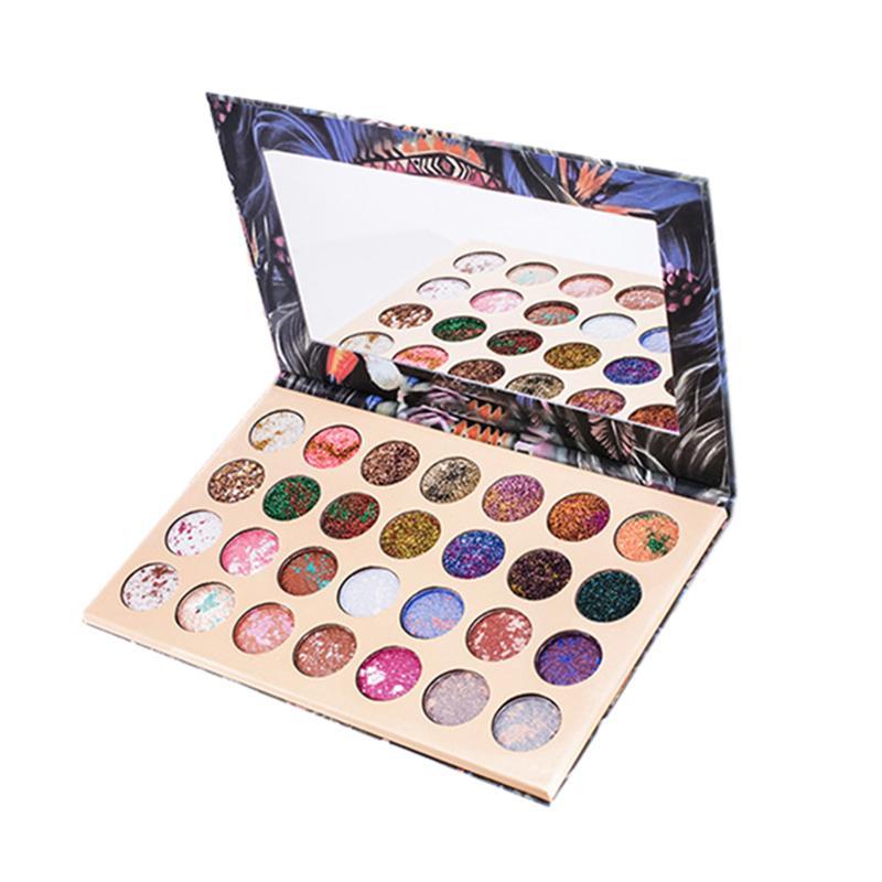 Göz Farı 28 Renkler Profesyonel Makyaj Göz Farı Paleti Setleri Kadınlar Güzellik Kozmetik Kitleri Glitter Makyaj Paleti Kutusu