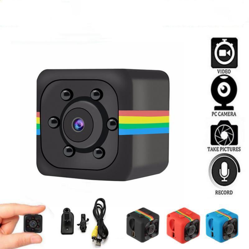 SQ11 mini macchina fotografica del sensore di visione notturna della videocamera portatile di movimento DVR grandangolare micro macchina fotografica di sport di DV Video DHL libero