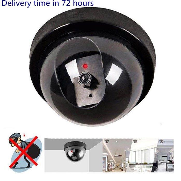 Generadores Cámaras falsas Simuladas Seguridad Video Video Dummy IR LED Cámaras Cámaras Generador de señales Santa Safe Supplies WY766Q