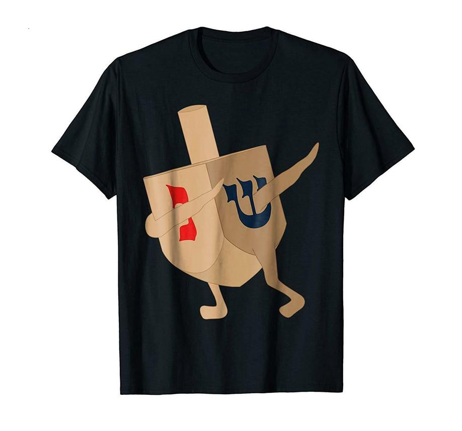 Divertente ebraico Hanukkah regalo tamponando Dreidel T-shirt Taglia M-3XL degli Stati Uniti Stock nuovo modo tee shirt