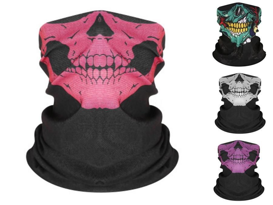 Doğa Sporları Sorunsuz Bandana Fonksiyonlu Şapkalar Kafa Sihirli Kafatası Eşarp Boyun tozluk Balıkçılık Yüz Shield # 226 # 560 Balacl Maske