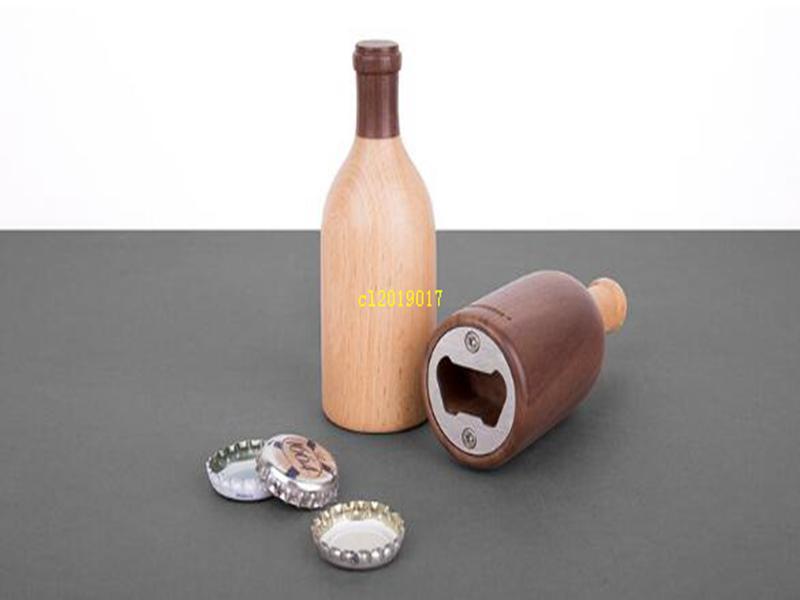 trasporto libero di birra in acciaio inox opener bar cucina in legno dono creativo