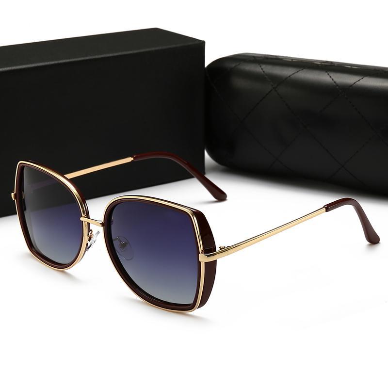 22014 Ray Fashion Trend occhiali da sole 57mm Lenti 5 occhiali da sole di colore delle donne degli uomini caldi di stile occhiali da sole casuali Trend Whith Box 88
