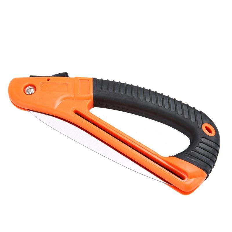 Portable de précision au sol pliant dents scie à main de jardin Tondeuse à bois Scie