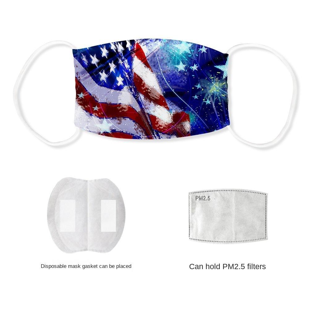estate New Day americano sottile dell'Indipendenza ghiaccio seta resistente alla polvere maschera anti-nebbia può mettere filtro PM2.5