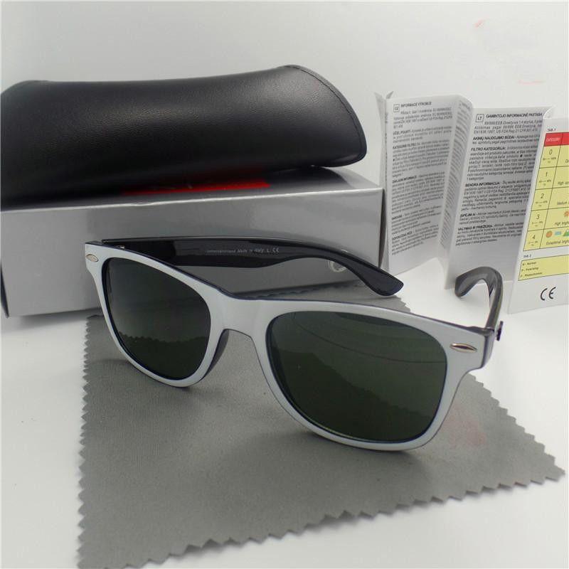 Marca Top nova moda clássica Pilot óculos de sol UV400 Óculos clássico Motorista estilo projeto quadro exterior 2140bans modelo clássico de tom