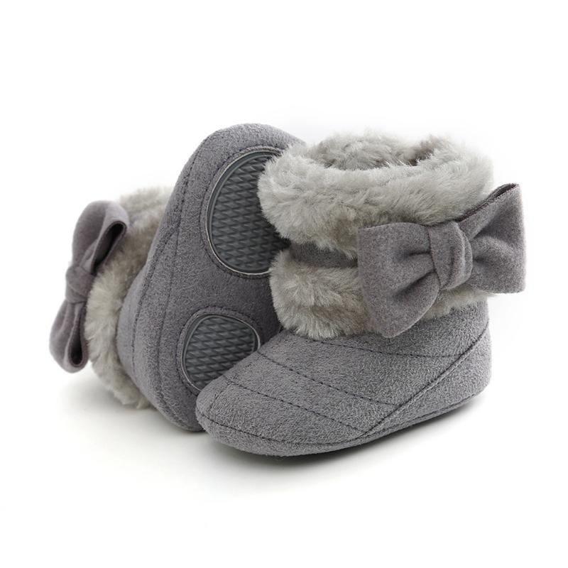 2020 nueva niña zapatos Slip-On colores mezclados de la mariposa de los nudos de los primeros caminante Zapatos de Niños
