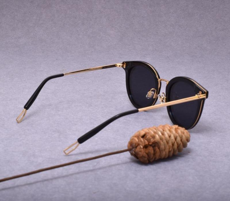 Nouveau mode Rétro ronde lunettes de soleil hommes Merlynn doux femmes caractère style98