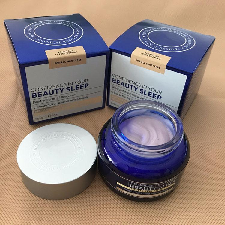 مستحضرات التجميل الساخنة الجميلة النوم كريم النوم 60ML الثقة في مرطب الخاص بك مغذية