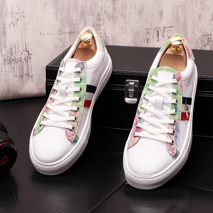 Yeni Geliş Moda Tasarımcısı Beyaz deri ayakkabı erkekler Yüksek Kaliteli Hip Hop Erkekler Günlük Ayakkabılar Lüks Lace Up Orjinal Sneakers J53