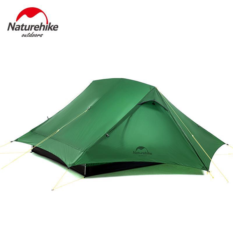 Naturehike 2020 Nuovo 4 stagione all'aperto 2 Persona doppio strato di silicio 20D tenda da campeggio ultraleggero tenda impermeabile di alluminio Rod