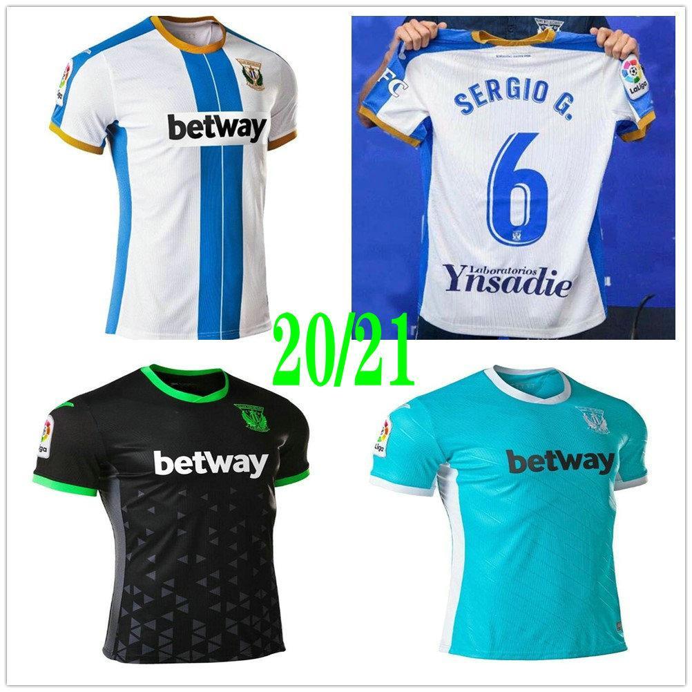 2020 2021 Club Deportivo Leganes Soccer Jerseys OSCAR SERGIO G. AITOR R. FEDE VARELA EN-NESYRI EL ZHAR Custom CD Leganes Home Football Shirt